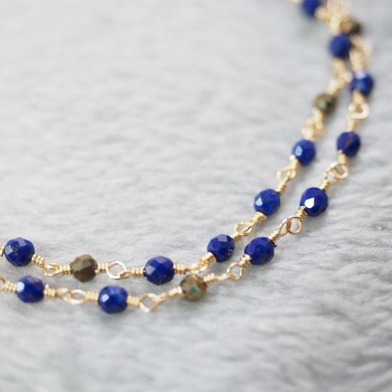 Lapis-Lazuli-Pyrite-Double-Bracelet