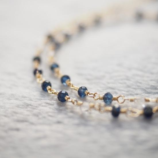 Sapphire-Herkimer-Diamond-Double-Bracelet
