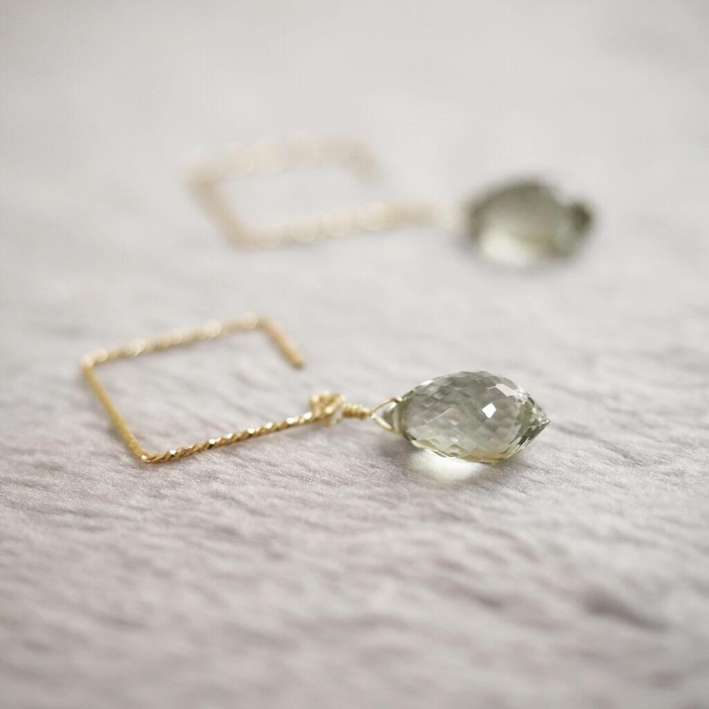Green-Amethyst-Marquise-Square-Earrings
